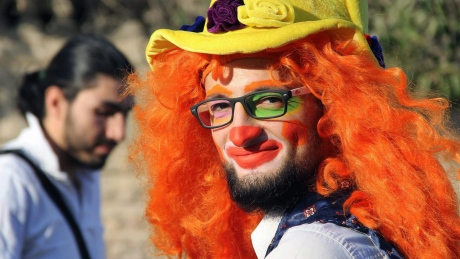 mideast-syria-clown-obituary