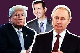 Trump-Putin-Assad
